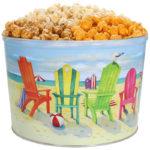 Tri-Flavor, Beach Chairs, 2.5gal Tin