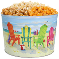 Tri-Flavor, Beach Chairs, 2.5gal Tin